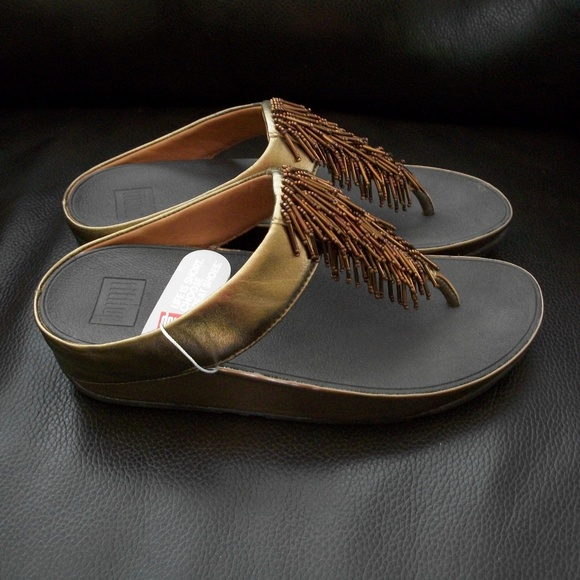 3253c669e484 Fitflop Cha Cha bronze shoes 8. M 5b2be1c745c8b3b28adb9ba7